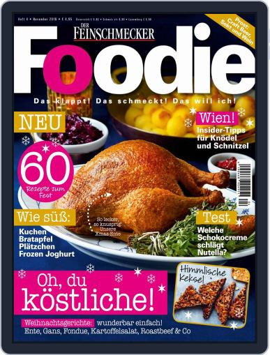 FOODIE November 1st, 2016 Digital Back Issue Cover