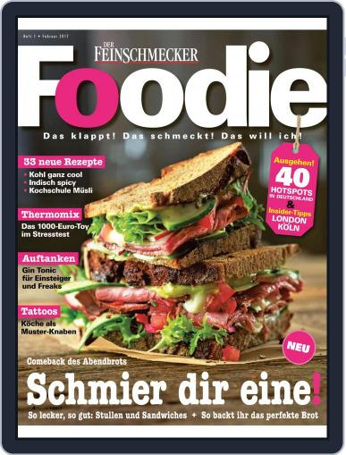 FOODIE February 1st, 2017 Digital Back Issue Cover