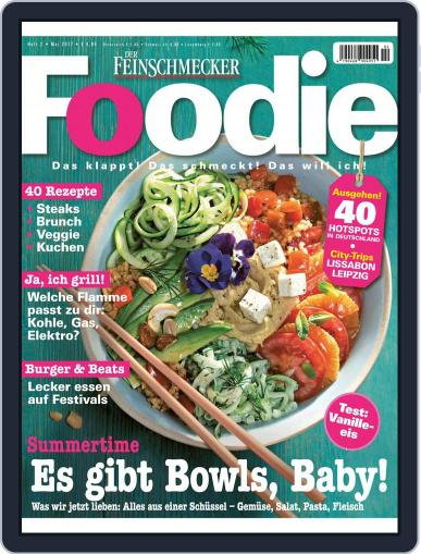 FOODIE May 1st, 2017 Digital Back Issue Cover