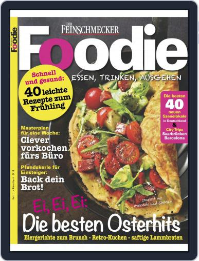 FOODIE March 1st, 2019 Digital Back Issue Cover