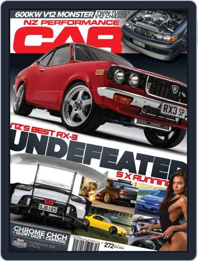 NZ Performance Car August 1st, 2019 Digital Back Issue Cover