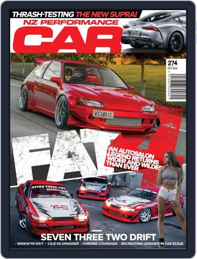 NZ Performance Car October 1st, 2019 Digital Back Issue Cover