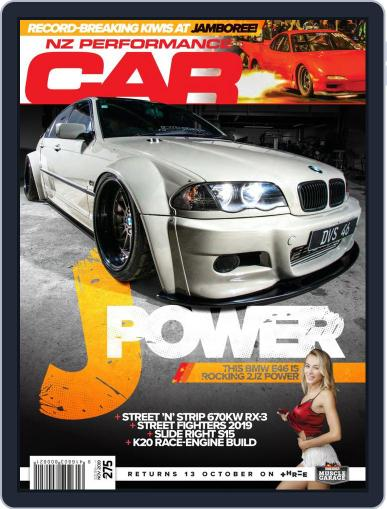 NZ Performance Car November 1st, 2019 Digital Back Issue Cover