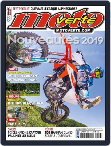 Moto Verte September 1st, 2018 Digital Back Issue Cover