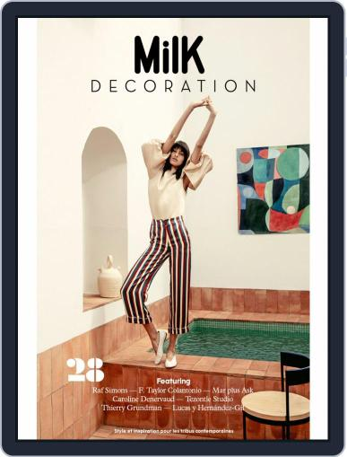 Milk Decoration June 1st, 2019 Digital Back Issue Cover