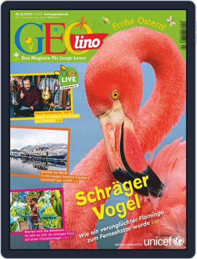 GEOlino April 1st, 2019 Digital Back Issue Cover