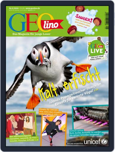 GEOlino September 1st, 2019 Digital Back Issue Cover