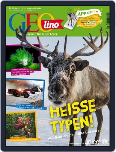 GEOlino December 1st, 2019 Digital Back Issue Cover