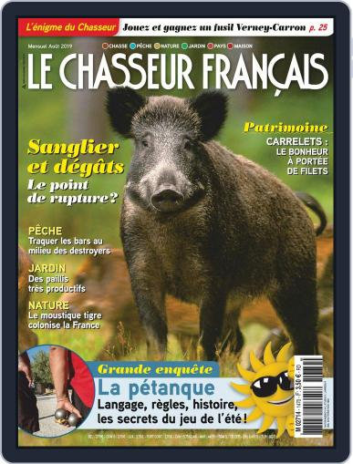 Le Chasseur Français August 1st, 2019 Digital Back Issue Cover