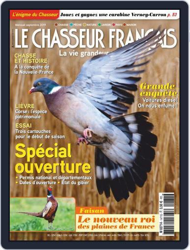 Le Chasseur Français September 1st, 2019 Digital Back Issue Cover
