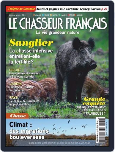 Le Chasseur Français October 1st, 2019 Digital Back Issue Cover