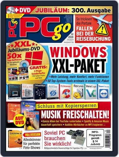 PCgo December 1st, 2019 Digital Back Issue Cover