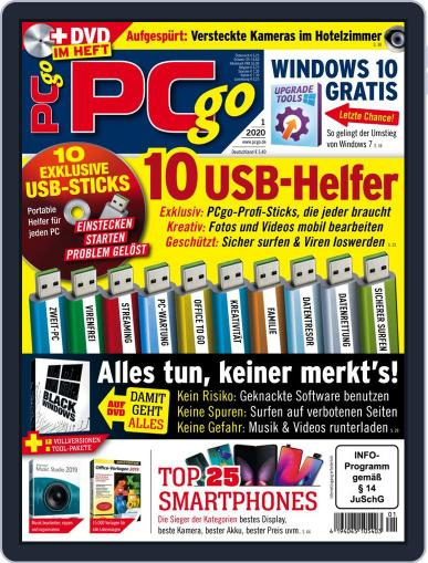 PCgo January 1st, 2020 Digital Back Issue Cover
