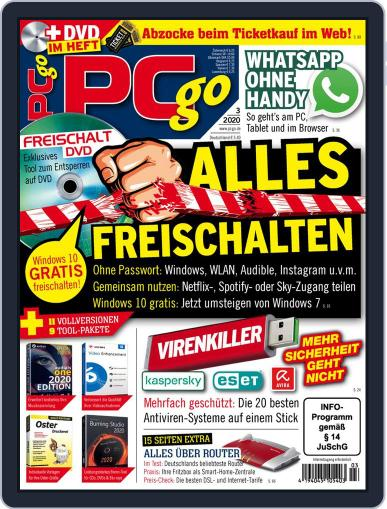 PCgo March 1st, 2020 Digital Back Issue Cover