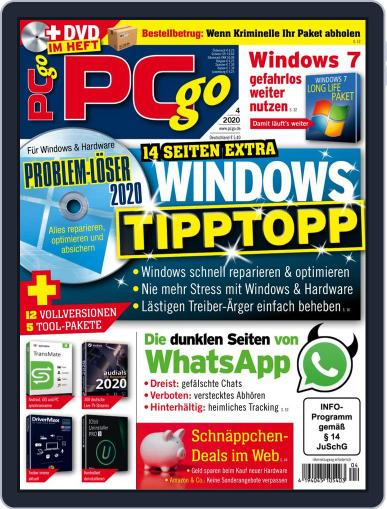 PCgo April 1st, 2020 Digital Back Issue Cover