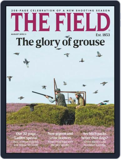The Field August 1st, 2019 Digital Back Issue Cover