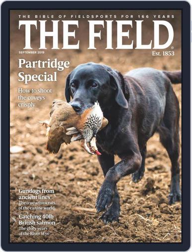 The Field September 1st, 2019 Digital Back Issue Cover