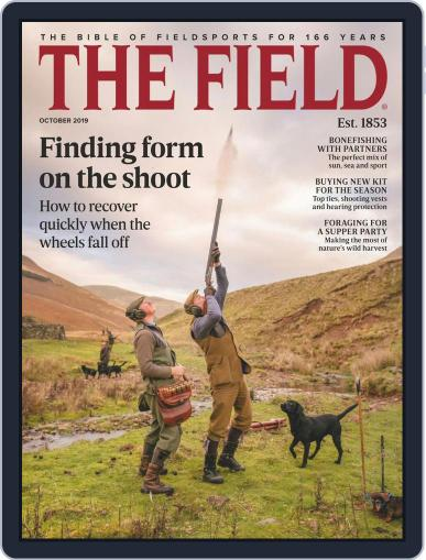 The Field October 1st, 2019 Digital Back Issue Cover