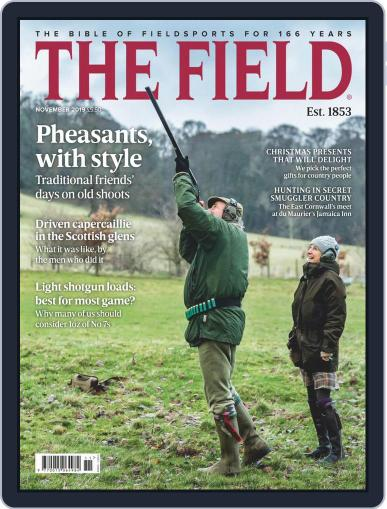 The Field November 1st, 2019 Digital Back Issue Cover