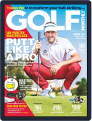 Golf Monthly (Digital) Subscription April 1st, 2020 Issue