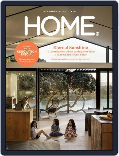 HOME Magazine NZ February 1st, 2018 Digital Back Issue Cover