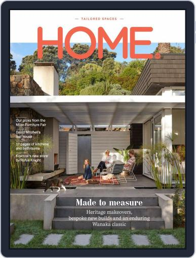 HOME Magazine NZ June 1st, 2018 Digital Back Issue Cover