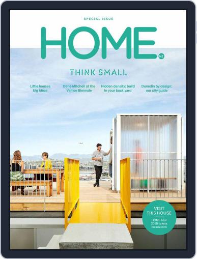 HOME Magazine NZ August 1st, 2019 Digital Back Issue Cover
