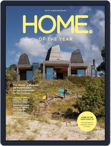 HOME Magazine NZ April 1st, 2020 Digital Back Issue Cover