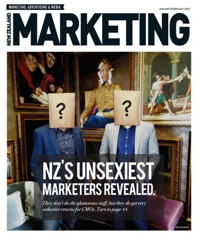 NZ Marketing January 25th, 2016 Digital Back Issue Cover