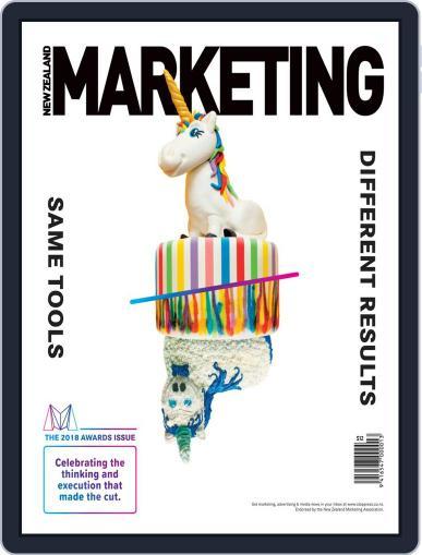 NZ Marketing September 10th, 2018 Digital Back Issue Cover