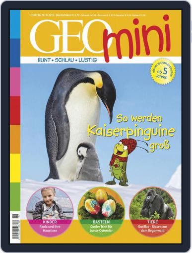 GEOmini April 1st, 2019 Digital Back Issue Cover