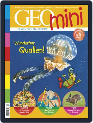 GEOmini July 1st, 2019 Digital Back Issue Cover