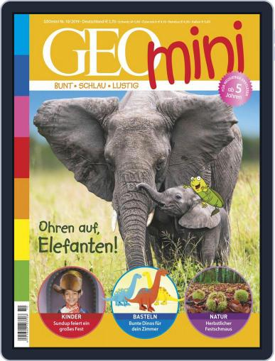 GEOmini October 1st, 2019 Digital Back Issue Cover