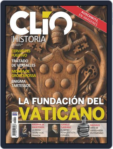 Clio March 15th, 2019 Digital Back Issue Cover