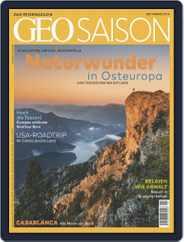 GEO Saison (Digital) Subscription September 1st, 2019 Issue