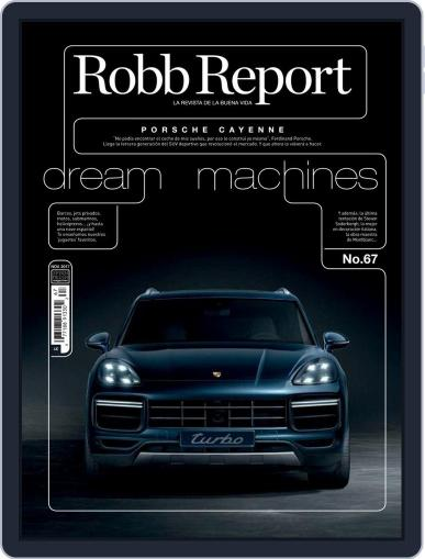 ROBB REPORT - España November 1st, 2017 Digital Back Issue Cover