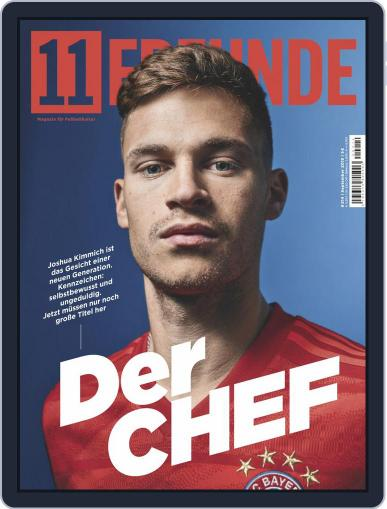 11 Freunde September 1st, 2019 Digital Back Issue Cover