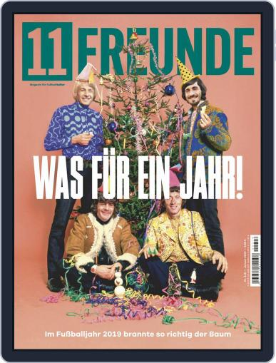 11 Freunde January 1st, 2020 Digital Back Issue Cover