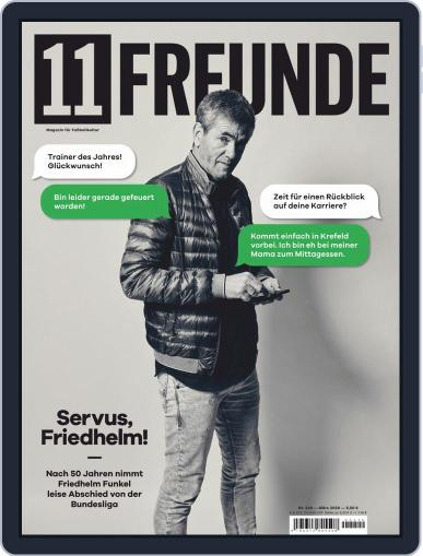 11 Freunde March 1st, 2020 Digital Back Issue Cover