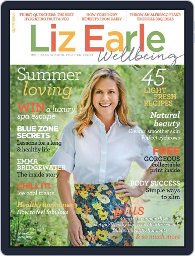 Liz Earle Wellbeing May 10th, 2017 Digital Back Issue Cover