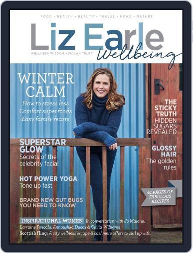 Liz Earle Wellbeing November 8th, 2017 Digital Back Issue Cover