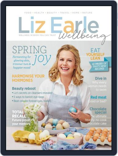 Liz Earle Wellbeing February 7th, 2018 Digital Back Issue Cover