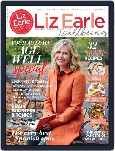 Liz Earle Wellbeing September 1st, 2018 Digital Back Issue Cover