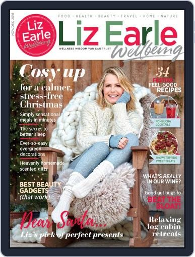 Liz Earle Wellbeing November 1st, 2018 Digital Back Issue Cover