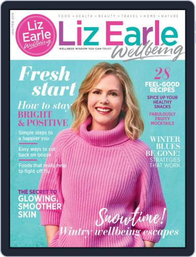 Liz Earle Wellbeing January 1st, 2019 Digital Back Issue Cover