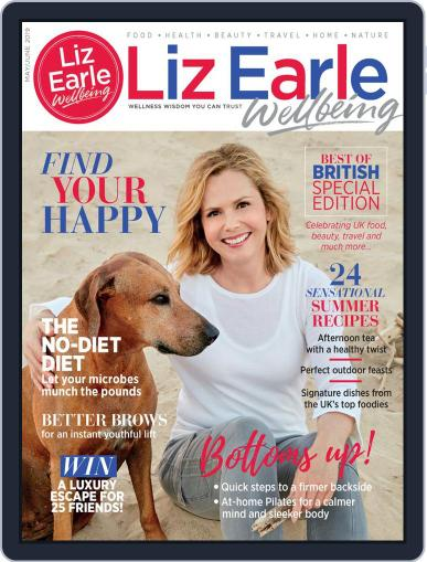 Liz Earle Wellbeing May 1st, 2019 Digital Back Issue Cover