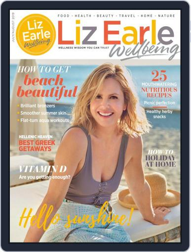 Liz Earle Wellbeing July 1st, 2019 Digital Back Issue Cover