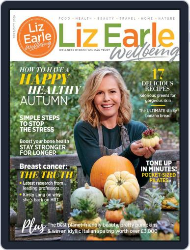 Liz Earle Wellbeing September 1st, 2019 Digital Back Issue Cover