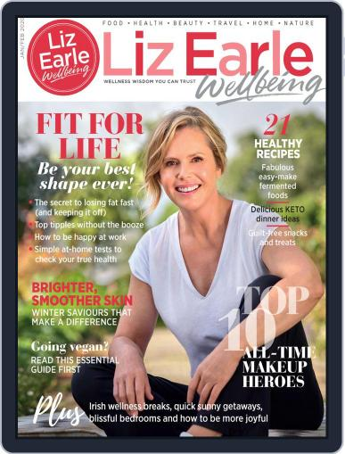 Liz Earle Wellbeing January 1st, 2020 Digital Back Issue Cover