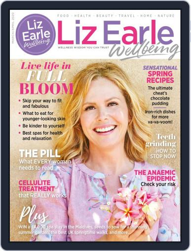 Liz Earle Wellbeing March 1st, 2020 Digital Back Issue Cover